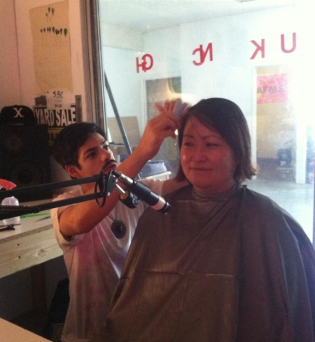 Mutant Salon comes to KCHUNG. Photo by Young Joon Kwak.