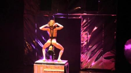 Narcissister performing This Masquerade at Abrons Art Center, New York, 2012. Photo: Rob Roth.