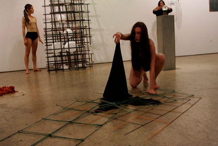 Elena Bajo, With Entheogenic Intent: Burn the Witch, closing performance. Photo: Andrew Chung.